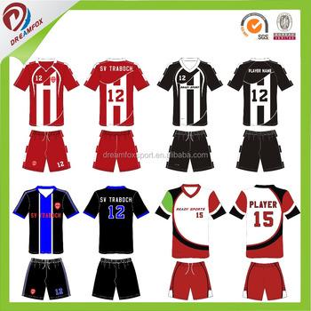 c8136e0a8 Guangzhou factory cheap custom football jerseys wholesale plain sublimation  polyester football jersey