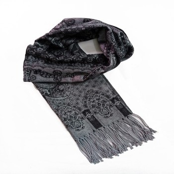 2015 Latest Design High Quality Pashmina Knit Scarf Winter Muffler