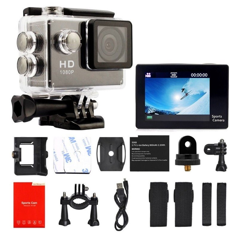 Cheap A9 Waterproof Sports Camera 1080P Full HD Wireless Diving Mini DV Cam Camcorder Video Recorder Action camera