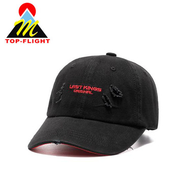 K Products Hats Wholesale Custom Embroidery Worn-out Baseball ... 6a408e6144f