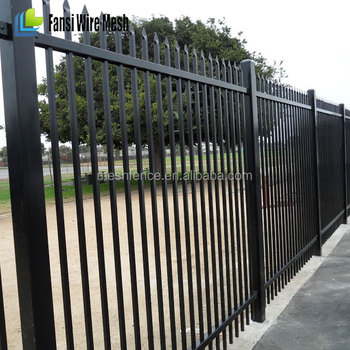 Metal Frame Material And Heat Treated Pressure Treated Wood Type Decorative  Metal Garden Fence - Buy Metal Garden Fence,Decorative Metal Garden