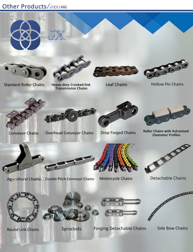 ISO Standard 10B-G1 Conveyor Chain with Rubber