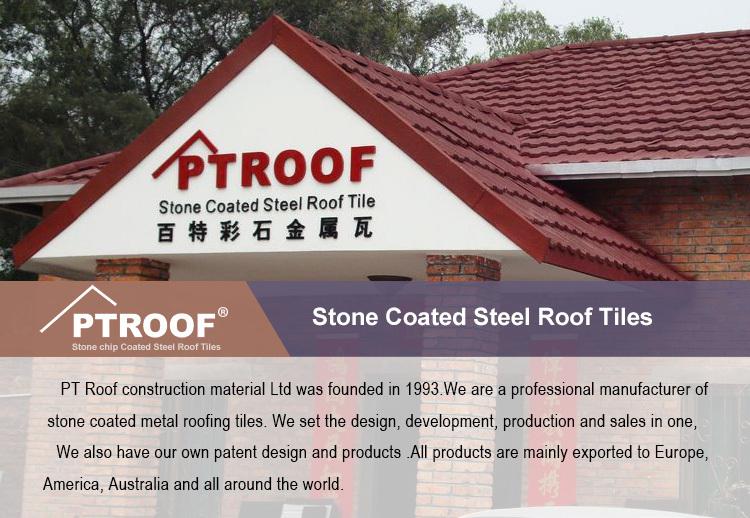 6 Waves Cheap Stone Coated Metal Roof Tile Asphalt