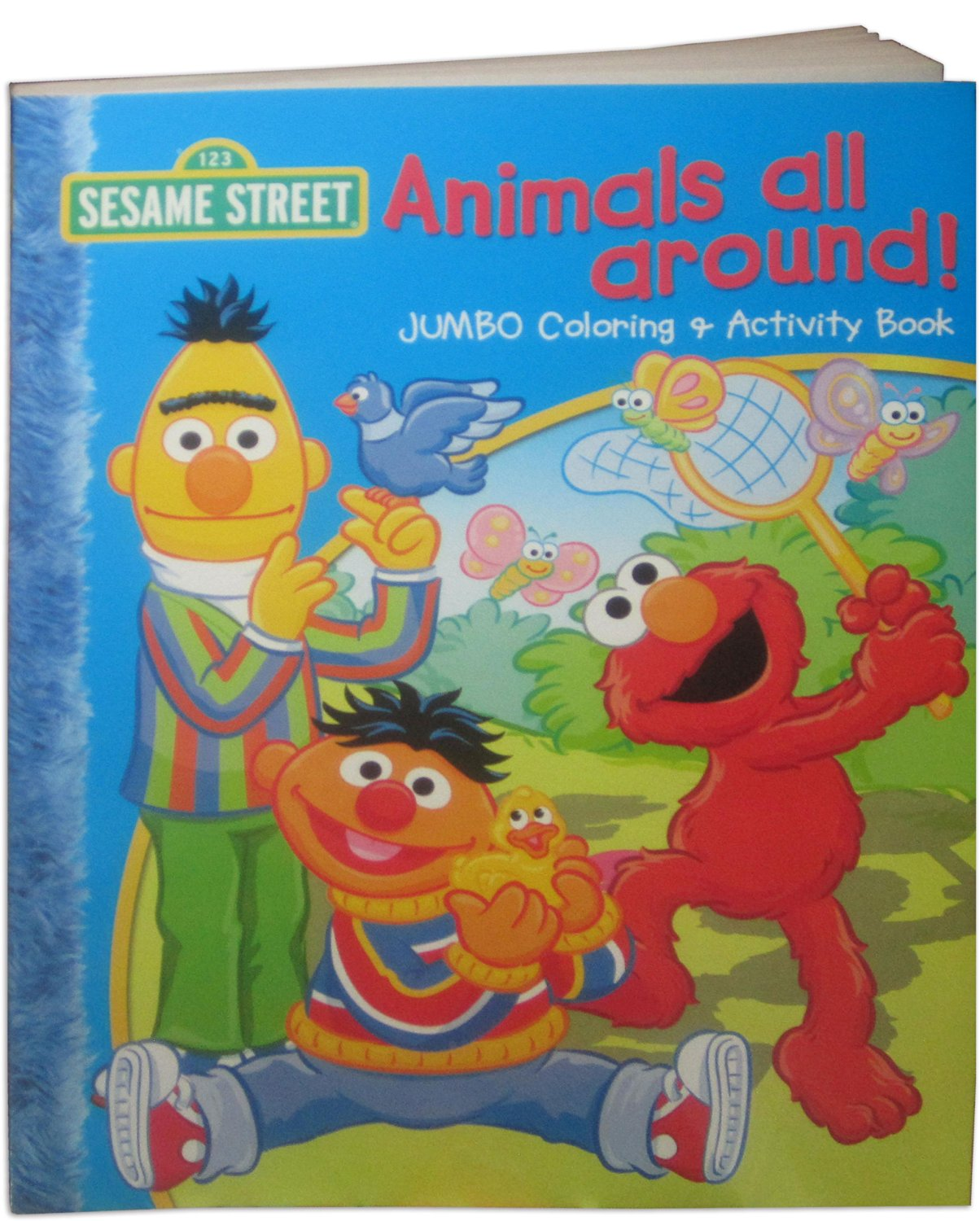 Buy Sesame Street Animals All Around Jumbo Coloring Activity Book In Cheap Price On Alibaba Com