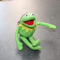 Free Shipping TY 16cm Kermit Plush Keychains Sesame Street Doll Stuffed Animal Kermit Pendant Plush Frog Doll