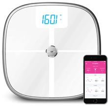 Koogeek Wifi/Bluetooth smart body fat analysis electronic weighing scale