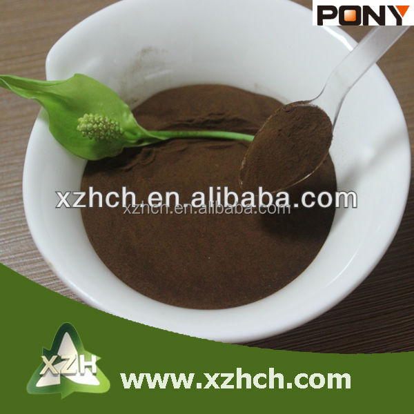 XZH industrial chemical Big fluidity of concrete sodium lignosulfonate