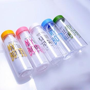 Hotsale Korean Style Cute Bottle Handle Plastic Water Bottles New