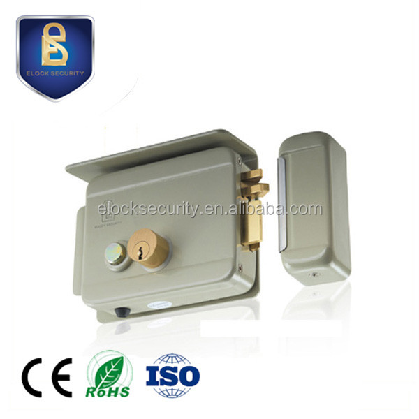 Electric Gate Lock, Double Cylinder, Weatherproof design