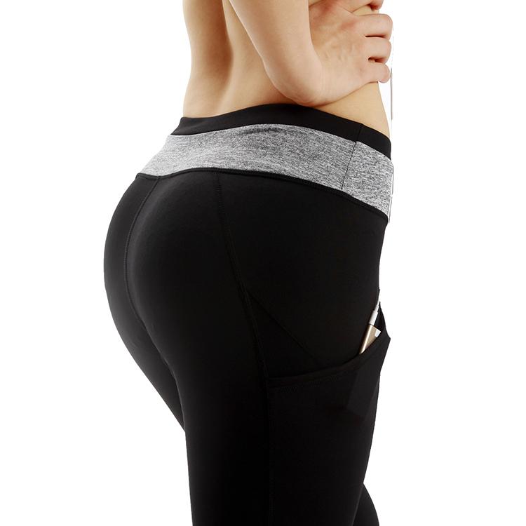 Dropshipping Hot Workout Fitness Pants Long Yoga Pants Capri With Phone  Pockets - Buy Capri Yoga Pants,Workout Pants,Long Yoga Pants Product on