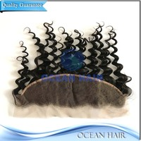 Wholesale 100% Virgin Can Be Dyed Free Part/3 Part Frontal Lace Closure,Blonde Lace Frontal Hair Closure