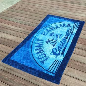 Tropical Custom Design 100 Cotton Printed Beach Towels Export To Tahiti