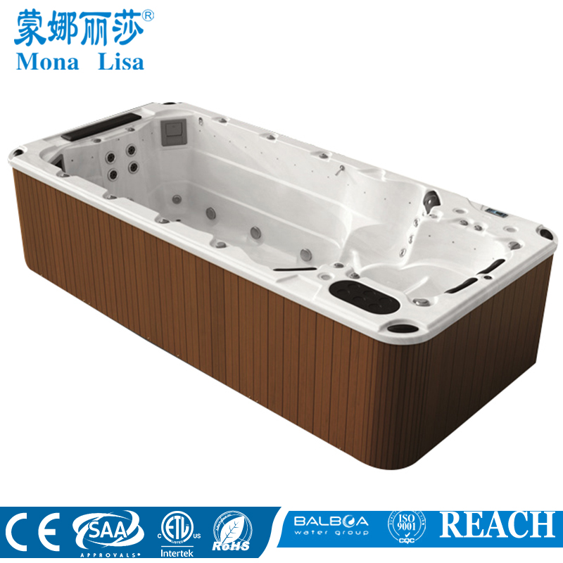 Freestanding 10 Person Hot Tubs Endless Pool Spa M 3370