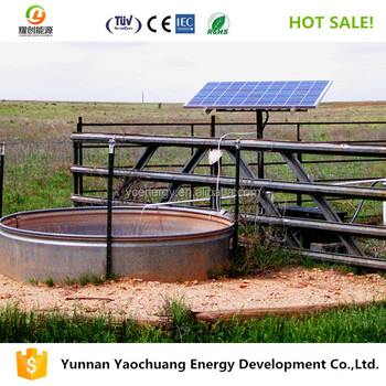 20hp Large Flow Max  265m Tdh Solar Water Pump For Borehole Deep Well - Buy  20hp Solar Water Pump,Solar Water Pump For Deep Well,Large Flow Solar