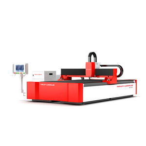 HGTECH new design 3015 cutting 10mm iron 500w fiber laser cutter