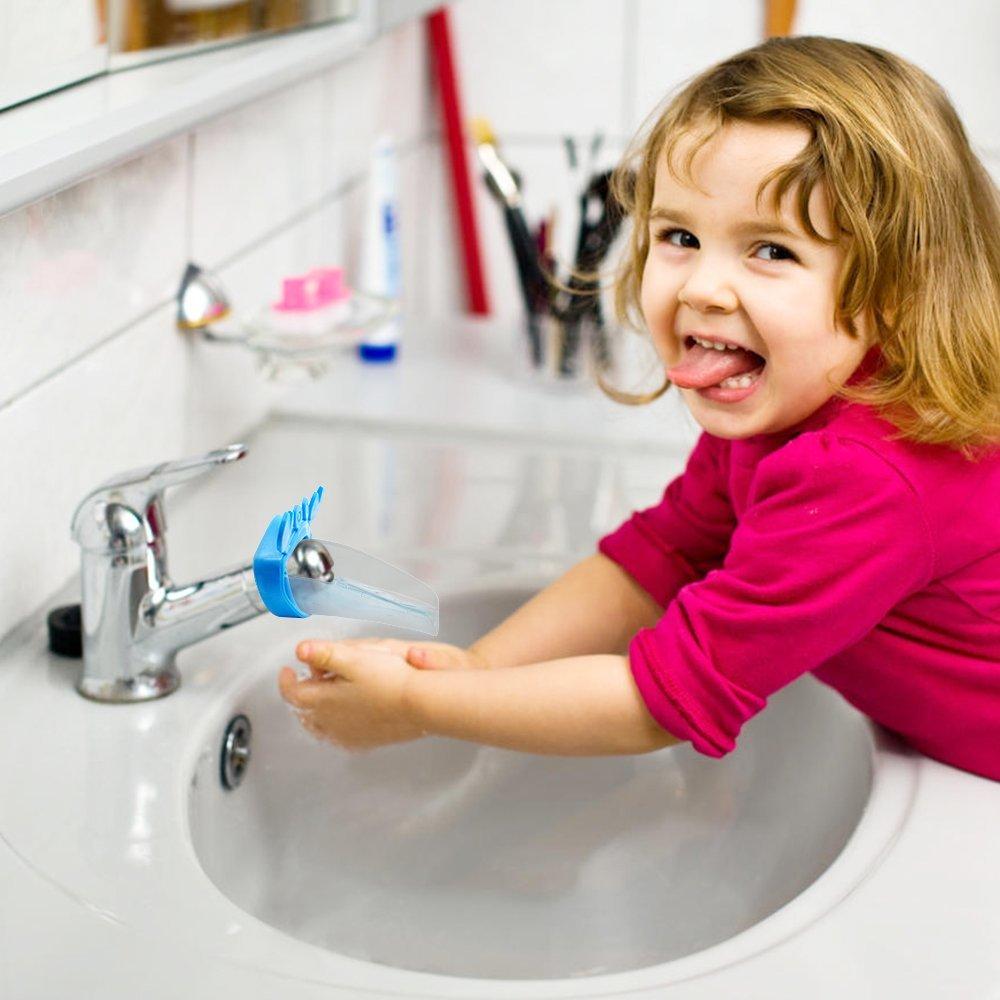 Baby Water Faucet Extender/aqueduck Faucet Handle Extender - Buy ...