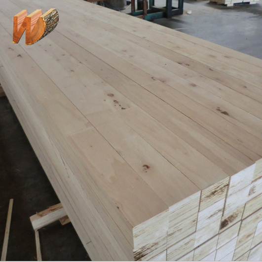 poplar lvl size for wooden pallet material