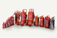 High Quality ABC Dry Powder Fire Extinguisher 6kg. with CE and EN 3 certificates