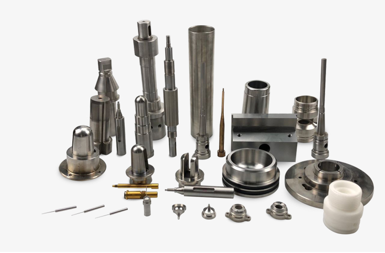 High Precision Stainless Steel CNC Lathe Machining Parts Non- standard Mold Components With Cavity Inserts