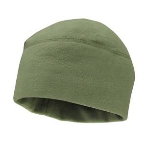 26f06773614 Get Quotations · Army Green Olive Drab OD Polar Fleece Watch Cap Hat  Tactical Hunting Cap Outdoor Military