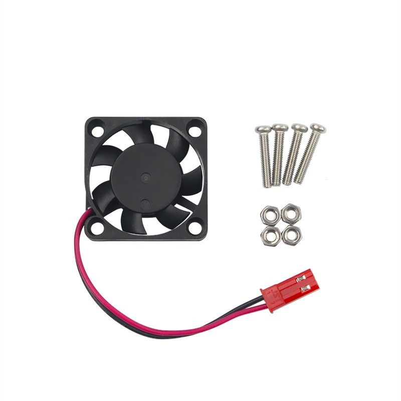 Smart Electronics Raspberry Pi 3 CPU Cooling Fan for Customized Acrylic ABS Case Support RPi 2 For Orange Pi