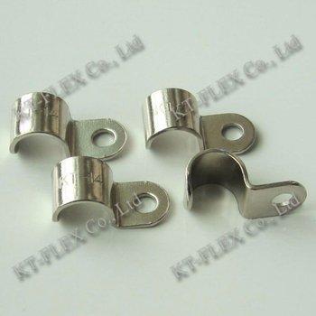 one hole metal cable clip buy metal cable clip conduit saddle clip rh alibaba com