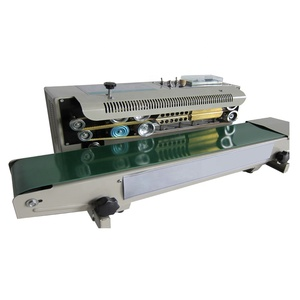 Cheap horizontal semi automatic multi function film plastic bag sealing machine