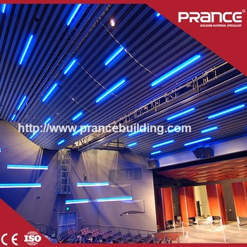 interior decoration building ceiling tiles fireproof metal ceiling