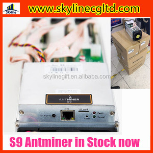 New Arrival Stock Bitcoin Antminer S9 13 5TH/S 14TH/S for bitcoin miner  with PSU APW3++ power supply