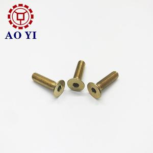 Customized raised countersunk flat head machine screw with competitive price