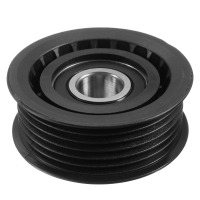 Factory service black anodized belt tensioner pulley as customer's drawing