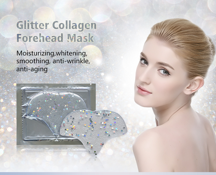 Glitter Collagen Star Forehead Malaysia Facial Mask Wholesale