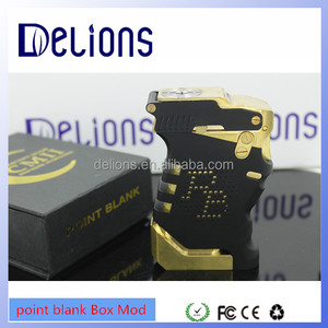 2016 Delions 1:1 clone hot selling Mechanical mod/point blank Box Mod bulk in stock