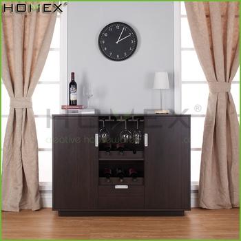 Sivira Moderne Espresso Multi-lagerung Esszimmer Buffet/holz Wein ...