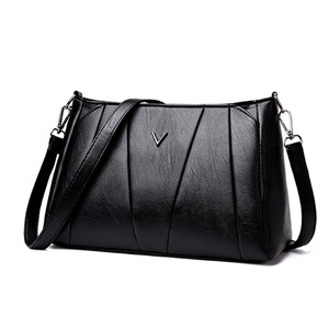 Bright luster stylish lady bag pu leather lady bag