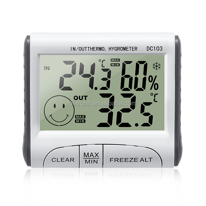 DC103 Digital Freeze Fridge Thermometer & Hygrometer/ temperature &humidity