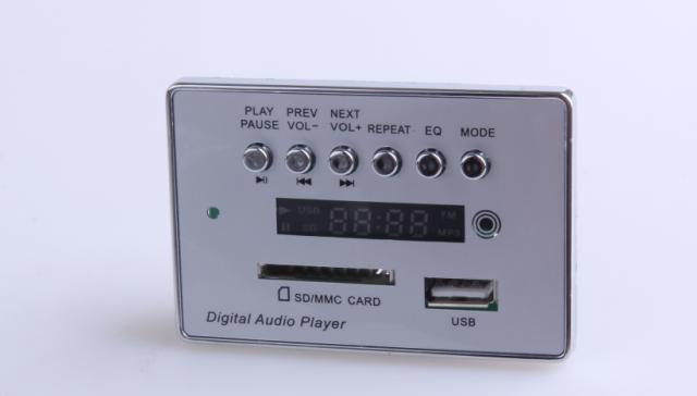 fm radio usb sd card mp3 player circuit board