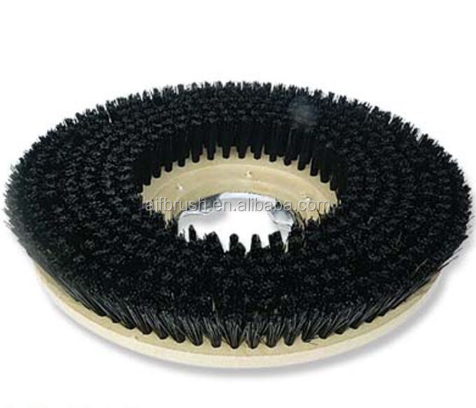 Rotating Scrubbing Round Floor Cleaning Brush Buy Round