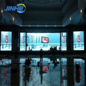 P3.91 Indoor Big Screen Flexible Led Curtain Display For Concert