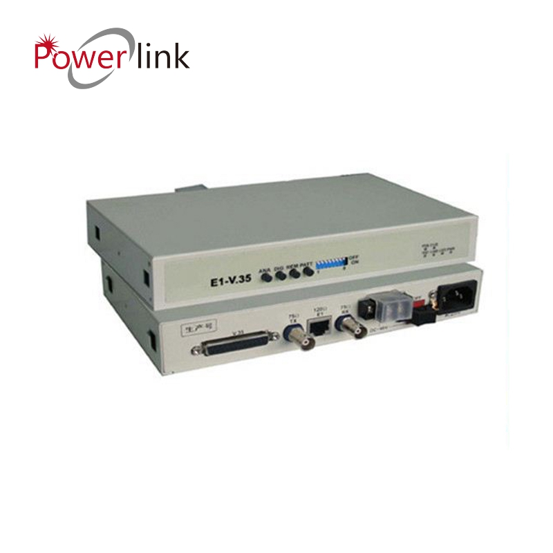 E1 G.703 - V.35 Interface Converter/Protocol Converter 220VAC and -48VDC Dual power supply OEM&ODM factory