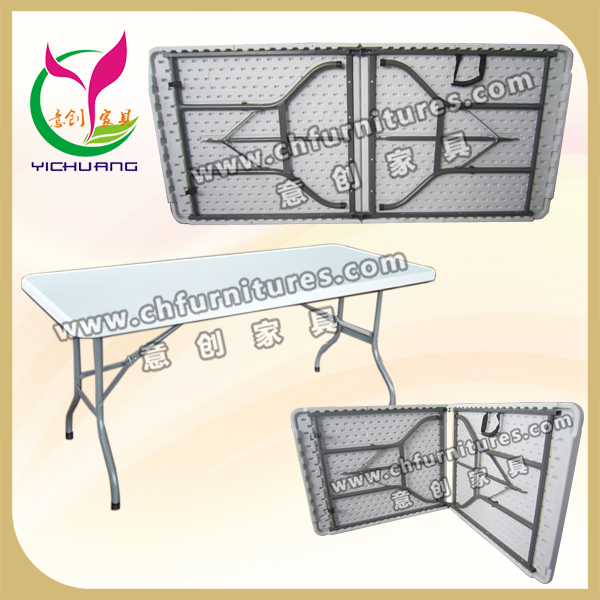 China Supplier Plastic Table Stable Frame Folding Plastic Outdoor ...