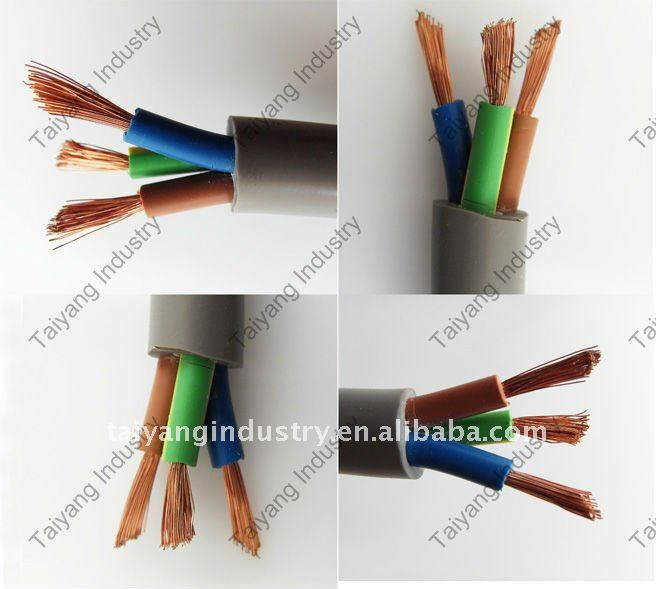Electrical Wire Royal Cord 3 Core 2.5mm2 - Buy Royal Cord,Royal Cord ...