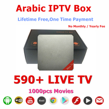 Free Android TV Box Arabic Channels IP TV Arabic No Montly Fee IPTV Box Arabic and Free 1000 PCS Movies in VOD