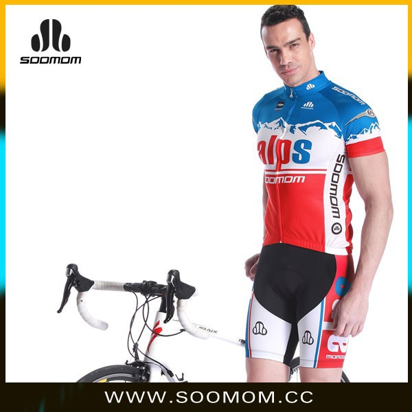 soomom lancesobike sublimated blank wholesale cycling jersey