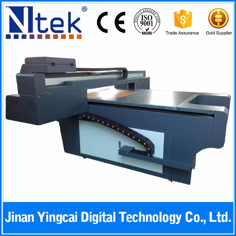 China factory equipment small high resolution digital inkjet LED automatic uv flatbed printer for art glass printing machine