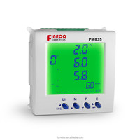 PM835 96*96mm ac digital voltage panel meter uesd for energy monitor electric power meter rs485