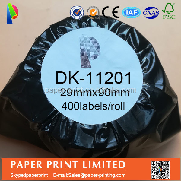 brother compatible label DK-11201DK-1201 DK 11201DK 1201 62mmx100mm 300 brother ql-500,thermal printer,address label printer