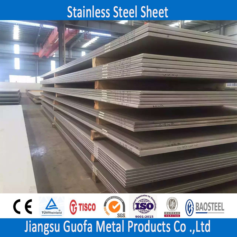 Mirror Finish Dimension 4x8 321 Stainless Steel Sheet With