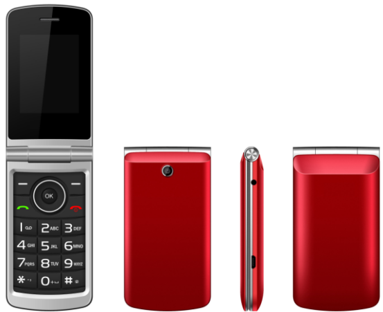 Hitech 2.4inch Quad bands W27 senior phone with flip dual sim big button feature phone W27 Bluetooth,FM,MP3/MP4