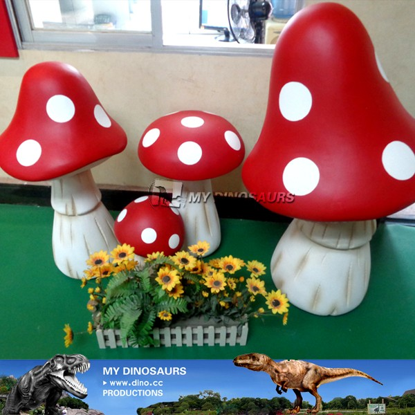 MY Dino-C056 Outdoor decoration artificial mushroom statues